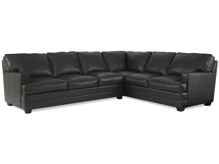 Elite Leather Sectionals Imprint Collection Sectional
