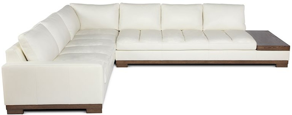 Elite Leather Sectionals Laude Sectional