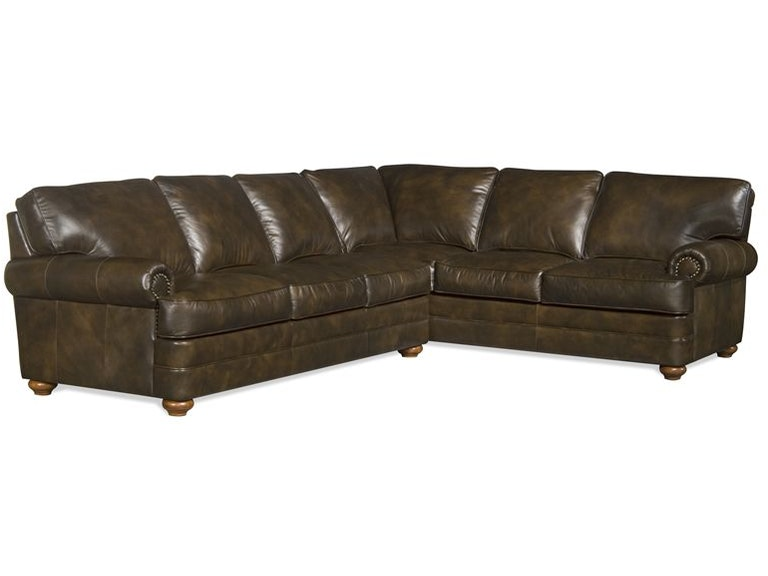Elite Leather Sectionals Lenoir Sectional
