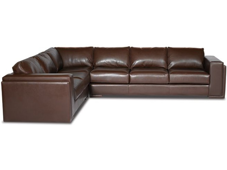 Elite Leather Sectionals Milan Sectional