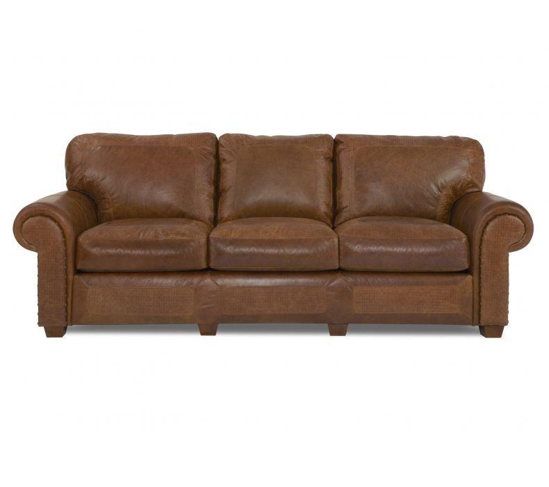 Beau Elite Leather Sofas Montana Sofa