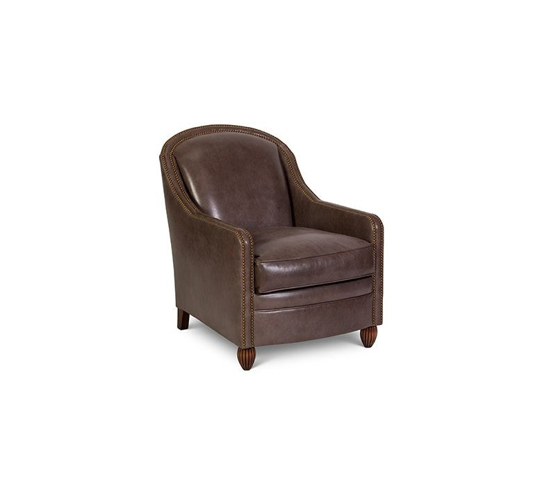Beau Elite Leather Accent Chairs Monte Cristo Chair