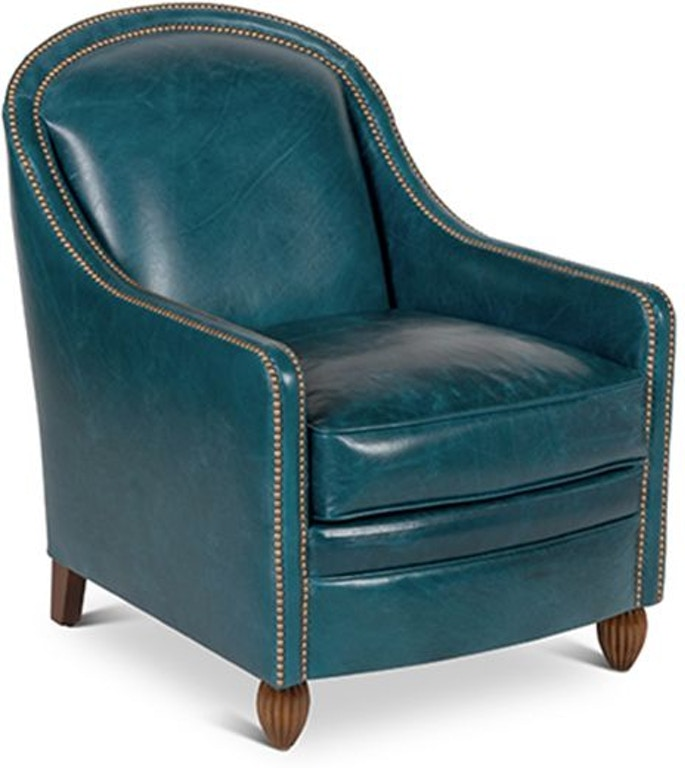 Elite Leather Accent Chairs Monte Cristo Chair