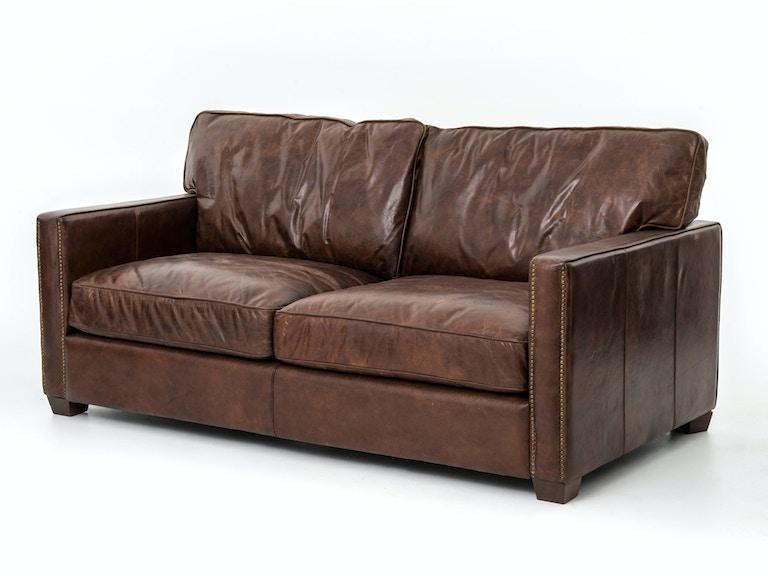 Four Hands Furniture CCAR-24 Living Room Larkin 72 Inch Sofa-Cigar