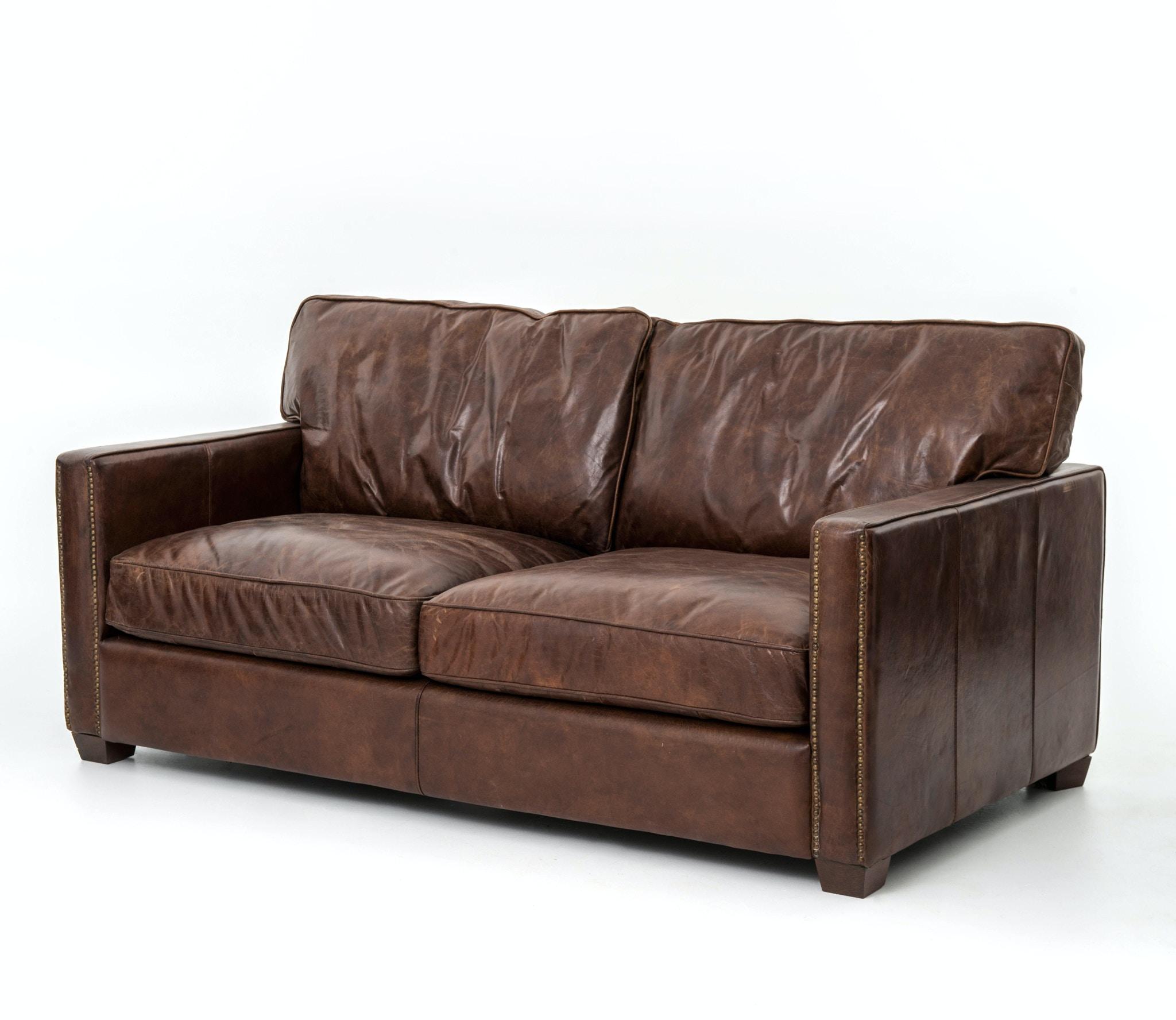 Four Hands Furniture Ccar 24 Living Room Larkin 72 Inch Sofa Cigar