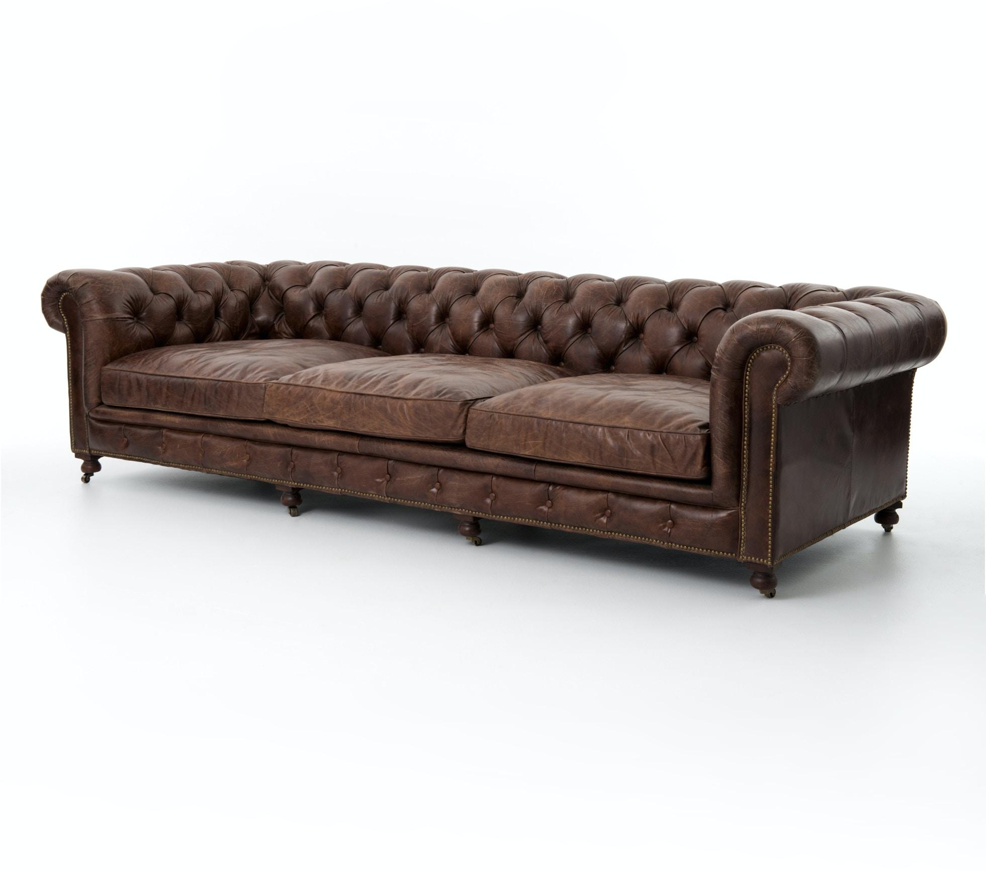Four hands furniture ccar 35 living room conrad 118 sofa cigar for Furniture 35