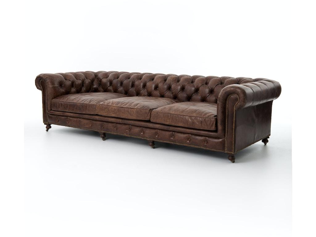 Four hands furniture living room conrad 118 sofa cigar ccar 35 for Furniture 35