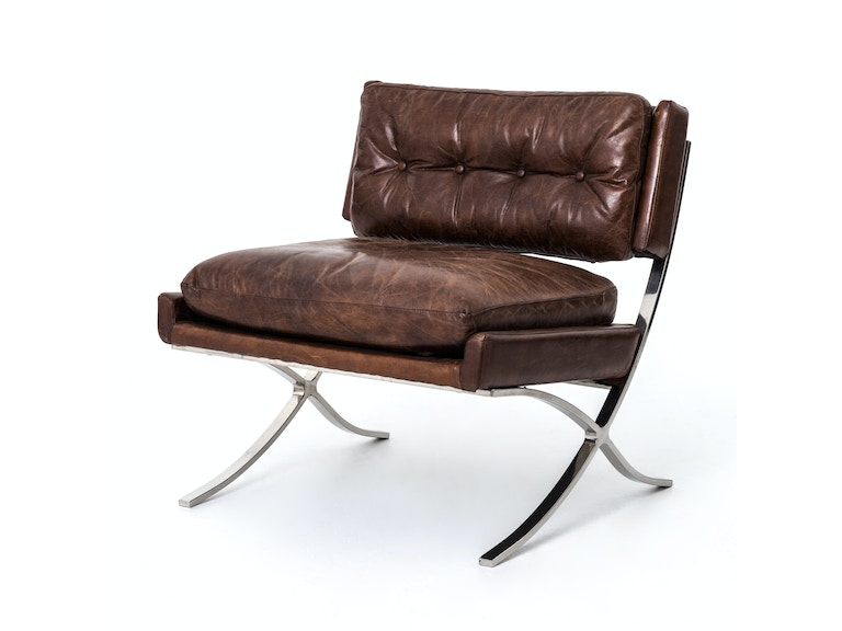 Four Hands Furniture Living Room Heathrow Lounge Chair Cigar Ccar T2 Goods Home Furnishings