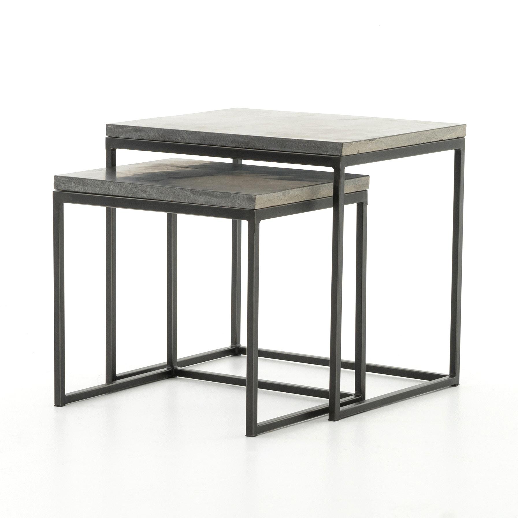Four Hands Furniture CIMP11L Living Room Harlow Nesting End Tables