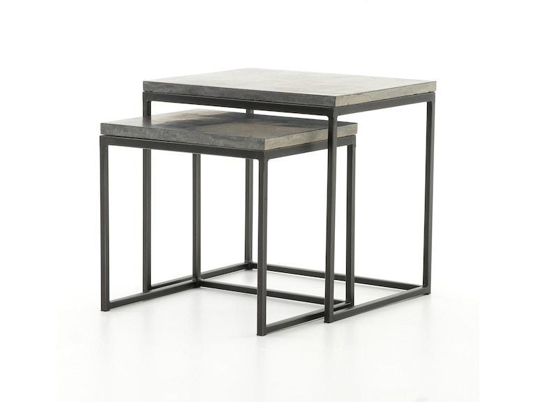 Four Hands Furniture CIMP-11L Living Room Harlow Nesting End Tables