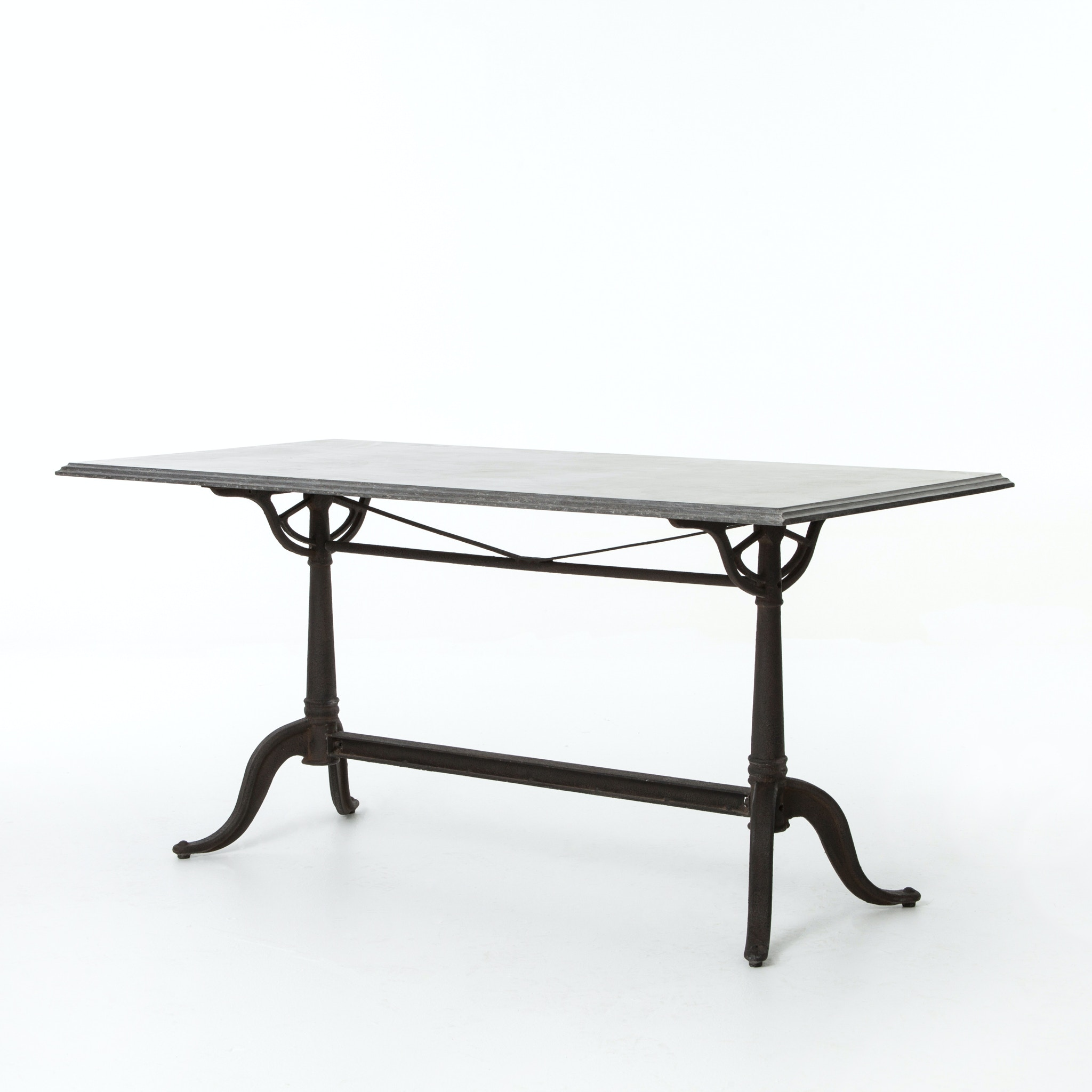 Four Hands Furniture Parisian Dining Table Bluestone CIMP 4K