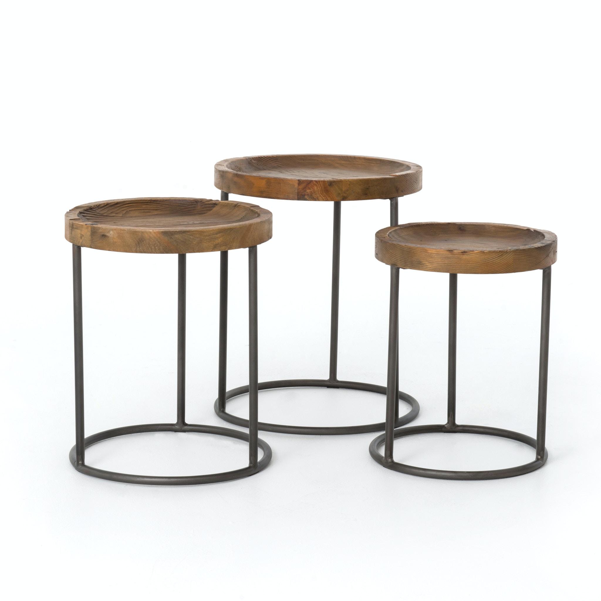 Four Hands Furniture CIMP6JBP Living Room Tristan Nesting Tables