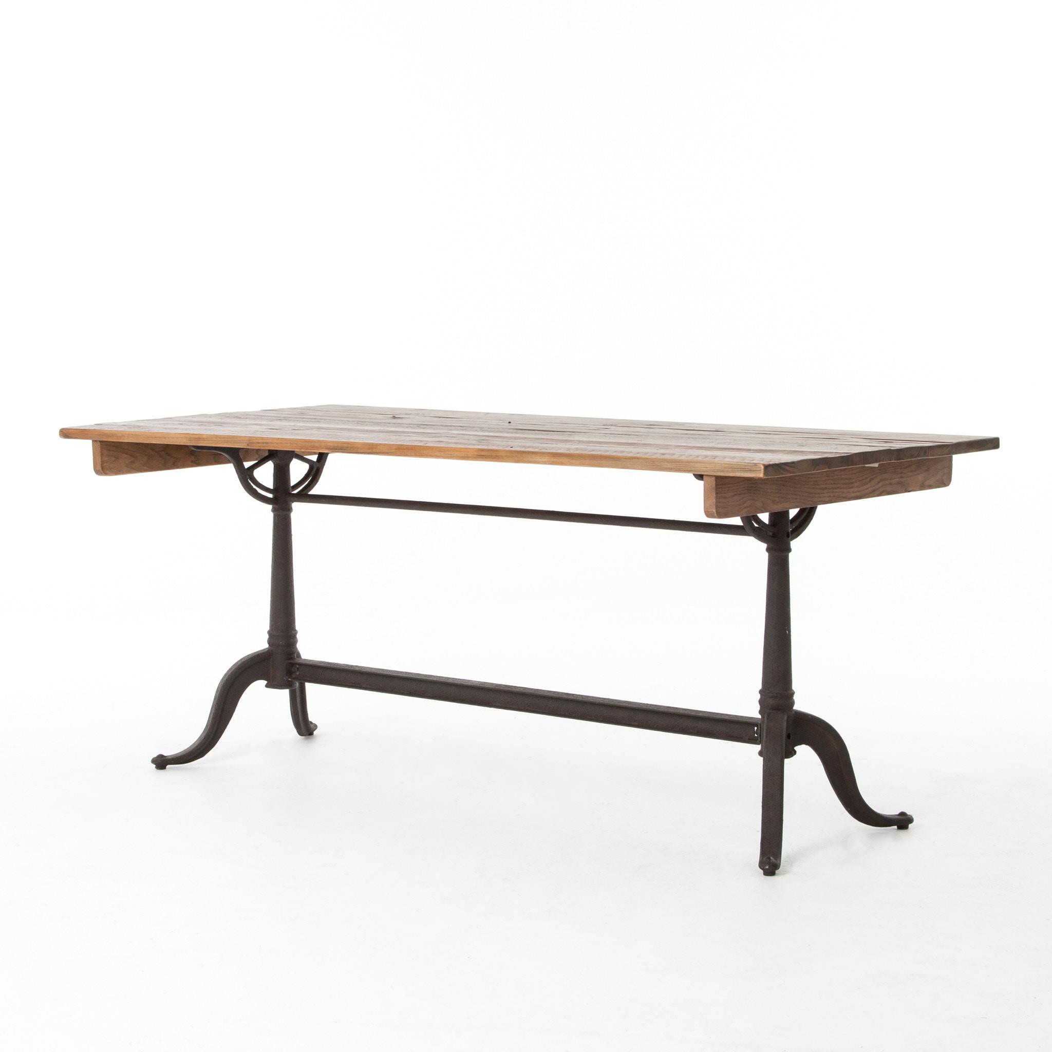 Four Hands Furniture Parisian Dining Table Bleached Pine CIMP Z5 BP