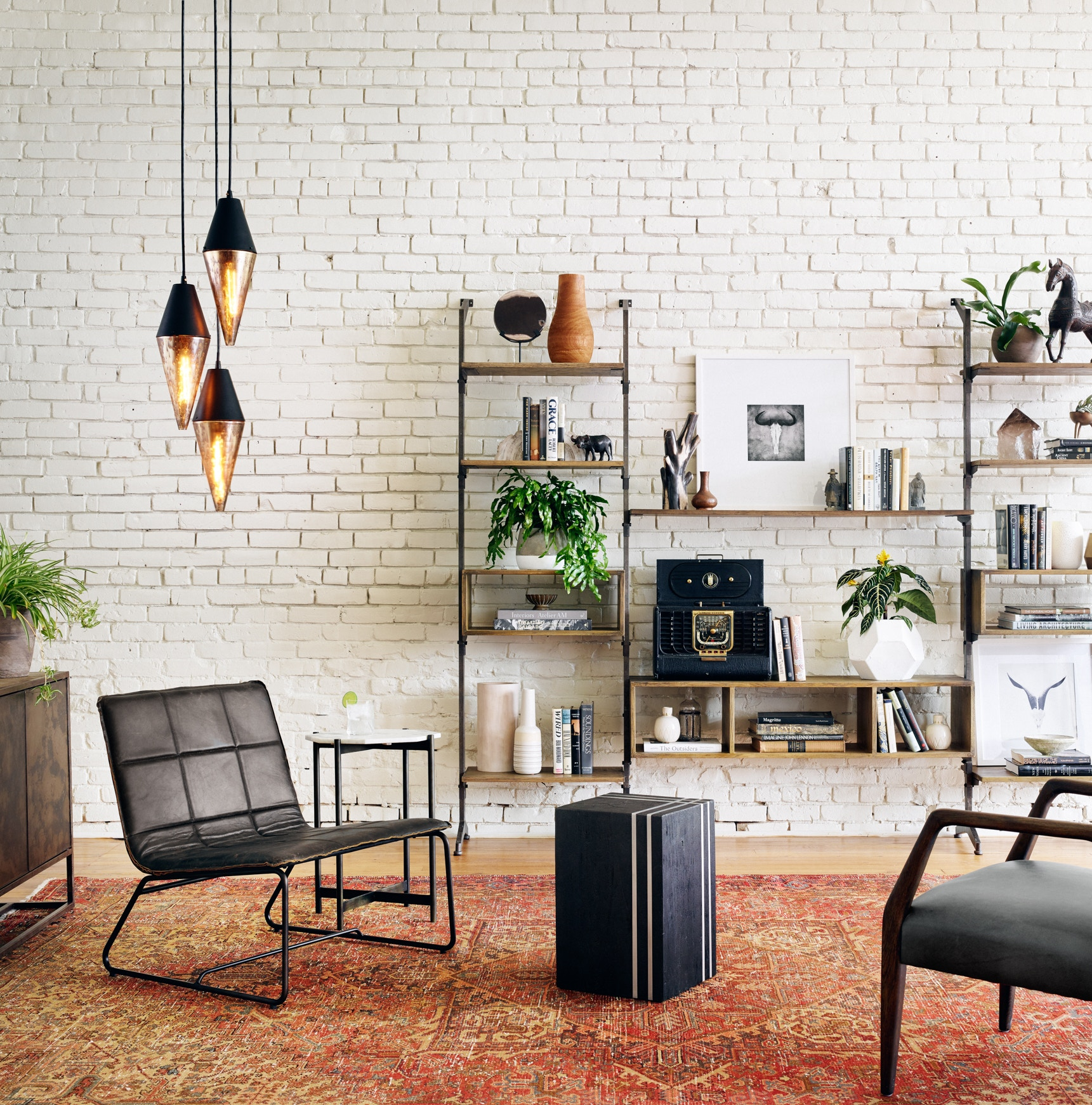 black singles in irondale A single one particular top if you utilize the home associated with irondale brooks lounge chair, black wash weathered as being a coffee table within the living.