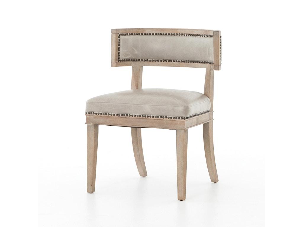Four Hands Furniture Dining Room Carter Dining Chair Light Grey Cken 41z 250 Goods Home