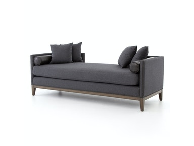 Four Hands Furniture MERCURY DOUBLE CHAISE-CHARCOAL FELT CKEN-79G-029
