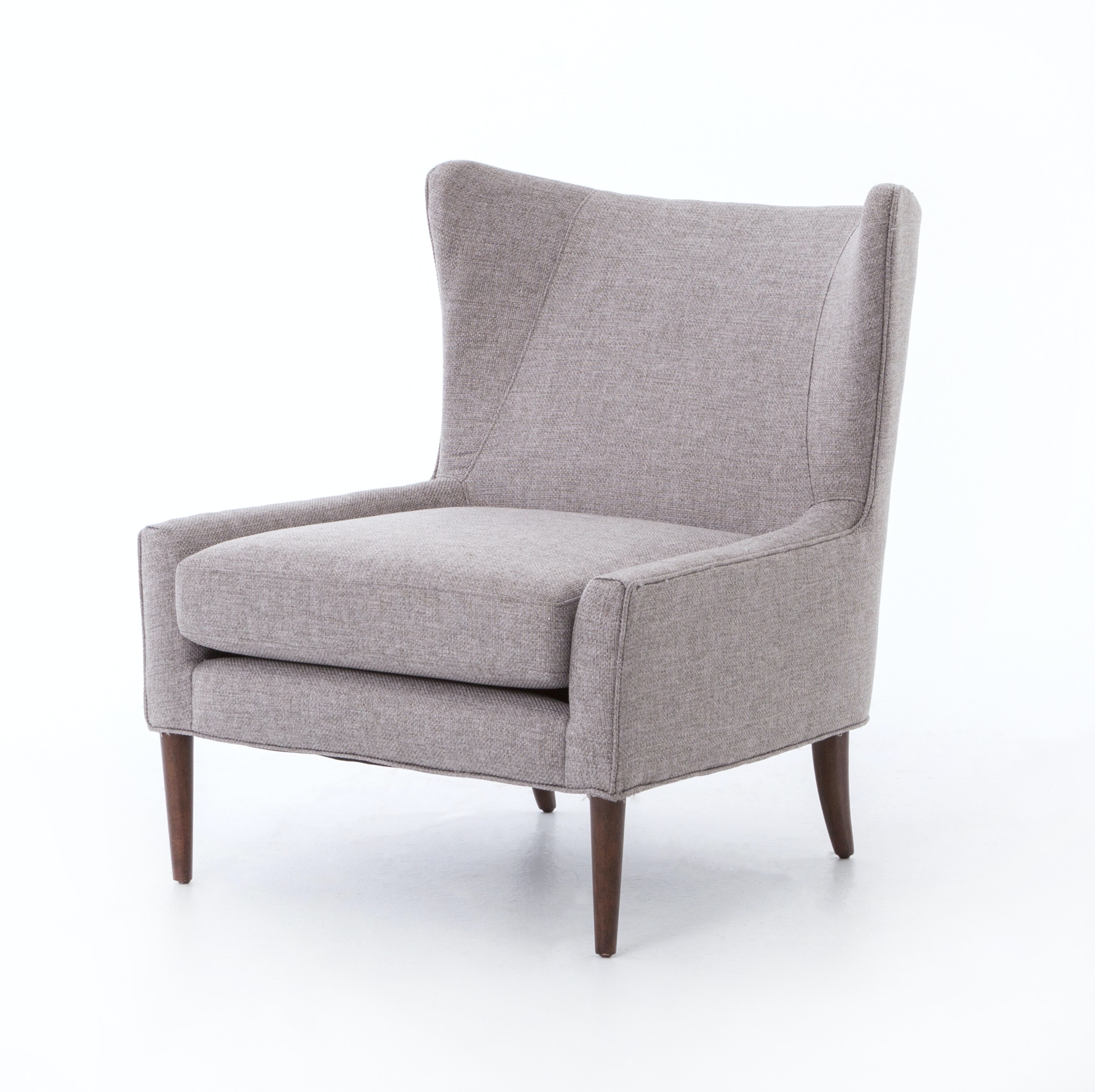 Four Hands Furniture Marlow Wing Chair Chess Pewter CKEN B7Y 360