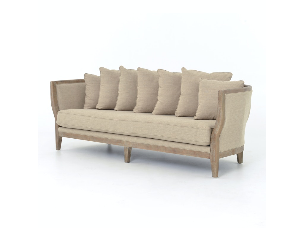 Four Hands Furniture Living Room Hayes 96 5 Sofa Hyde Clay Cmic 55z 030 Goods Home Furnishings