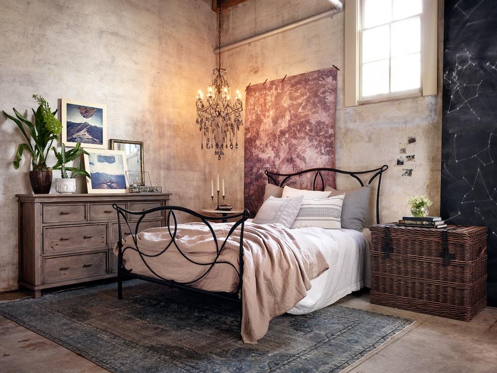 Four Hands Furniture SIENNA IRON QUEEN BED ICAP-Q