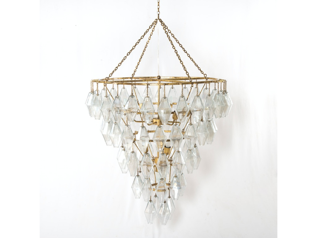 Four hands furniture ihtn 002a lamps and lighting adeline large four hands furniture adeline large round chandelier gold leaf ihtn 002a arubaitofo Choice Image