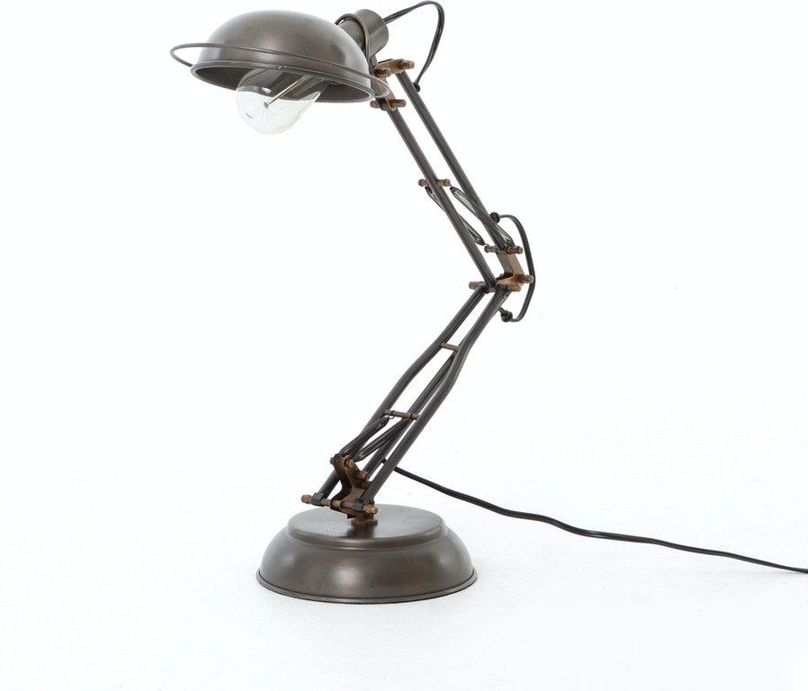 Four Hands Furniture Spring Desk Lamp Pewter ISUN 006 637