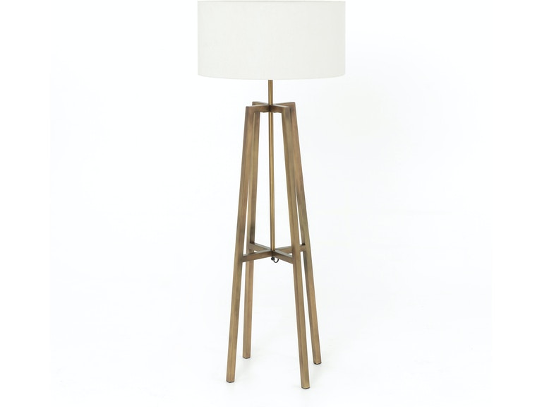 Four hands furniture isun 083a lamps and lighting lewis floor lamp brass four hands furniture lewis floor lamp brass isun 083a aloadofball Image collections