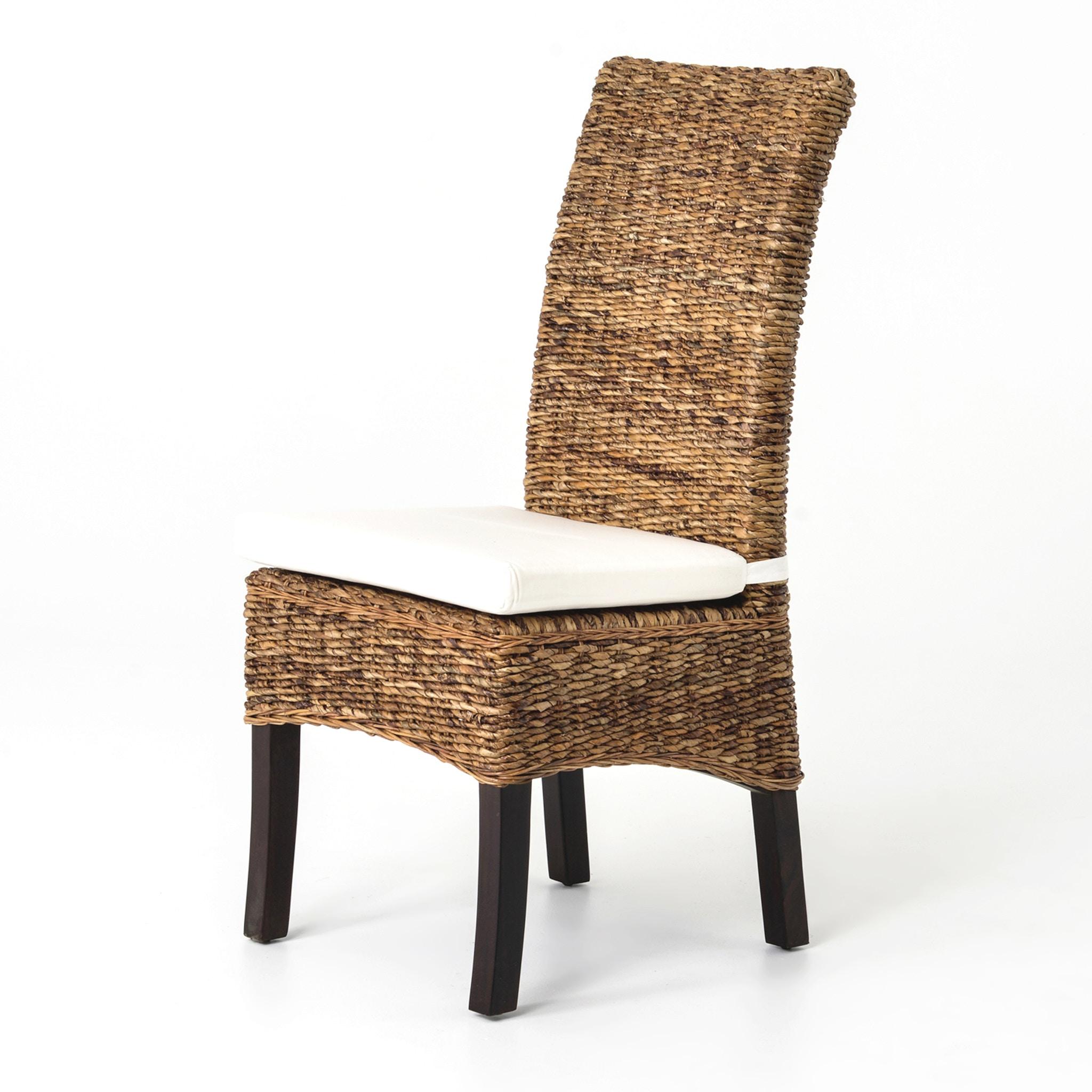 Beau Four Hands Furniture Banana Leaf Chair With Cushion JCHR B1