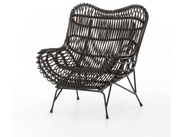 Four Hands Furniture Accessories Wicker Occasional Chair