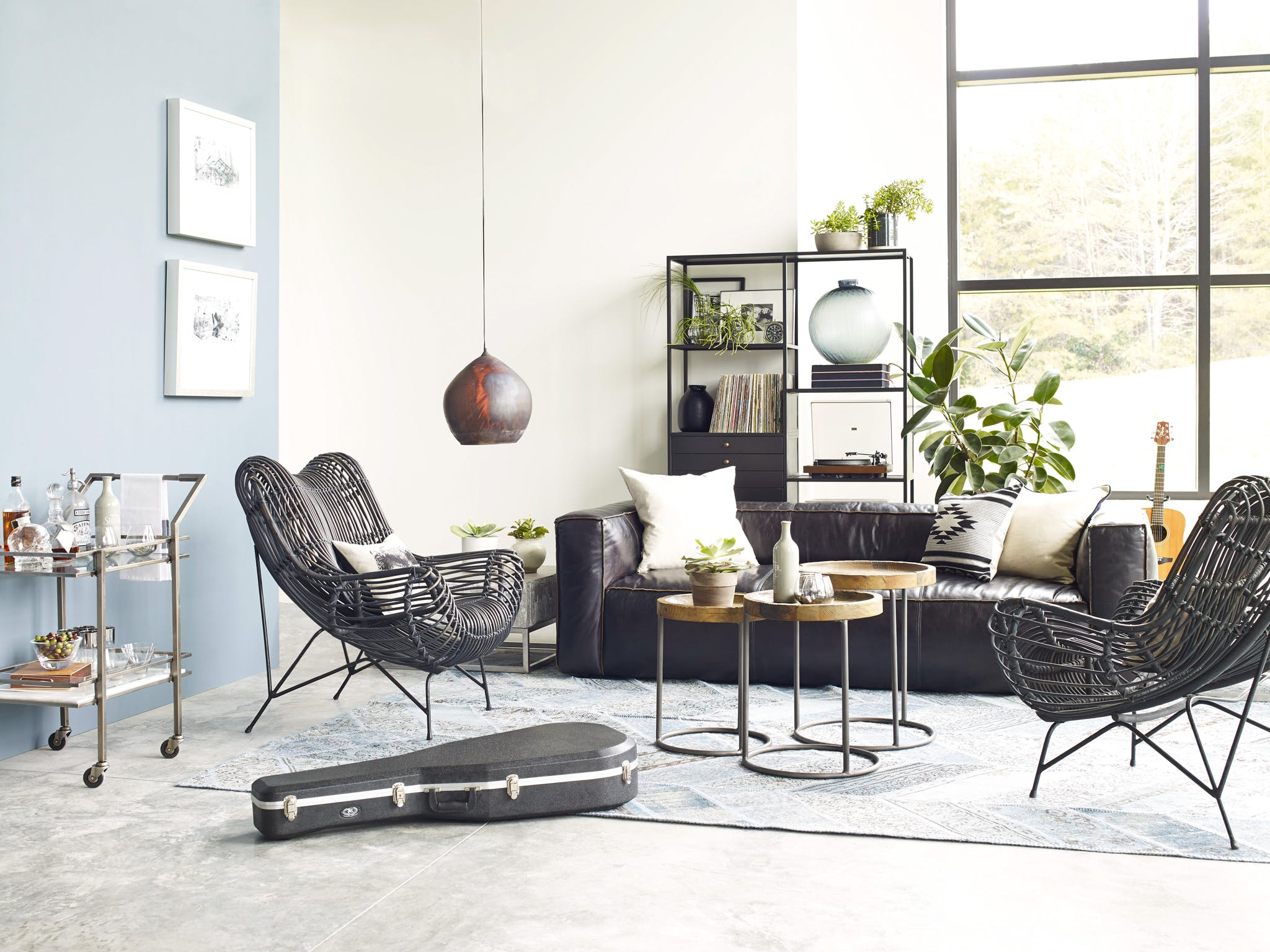 Four Hands Furniture Jsd 0002 Living Room Wicker Occasional