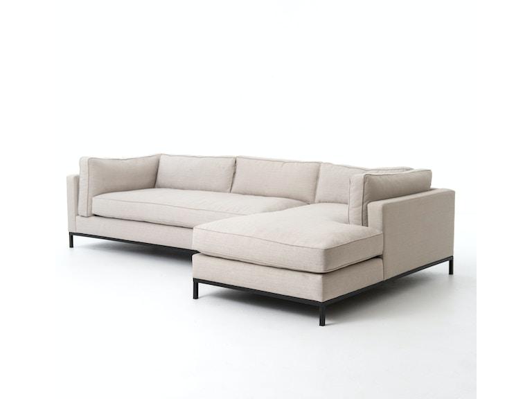 Four Hands Furniture UATR-001A Living Room Grammercy 2 Pc ...