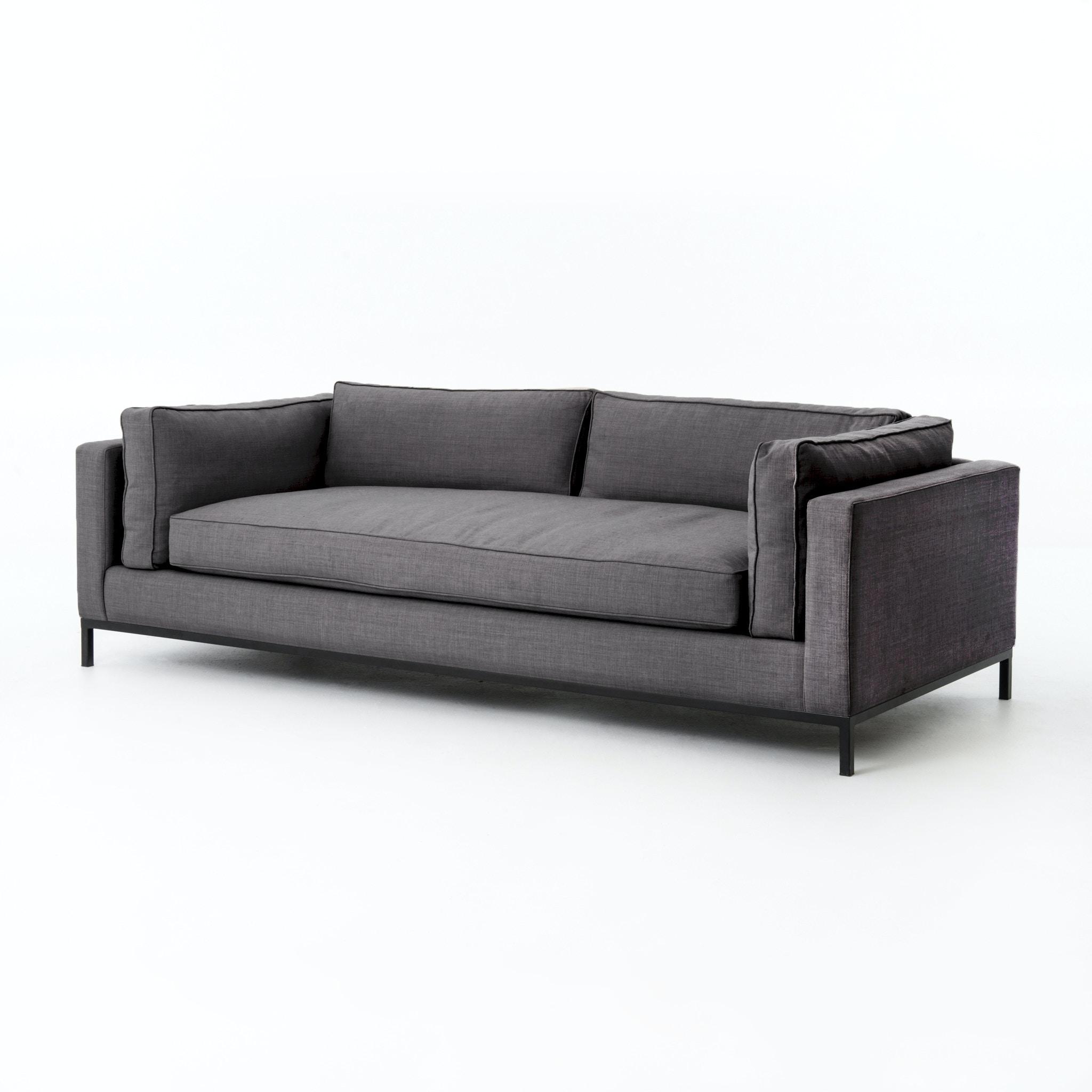 Four Hands Furniture Grammercy Sofa Bennett Charcoal UATR 002 BCH