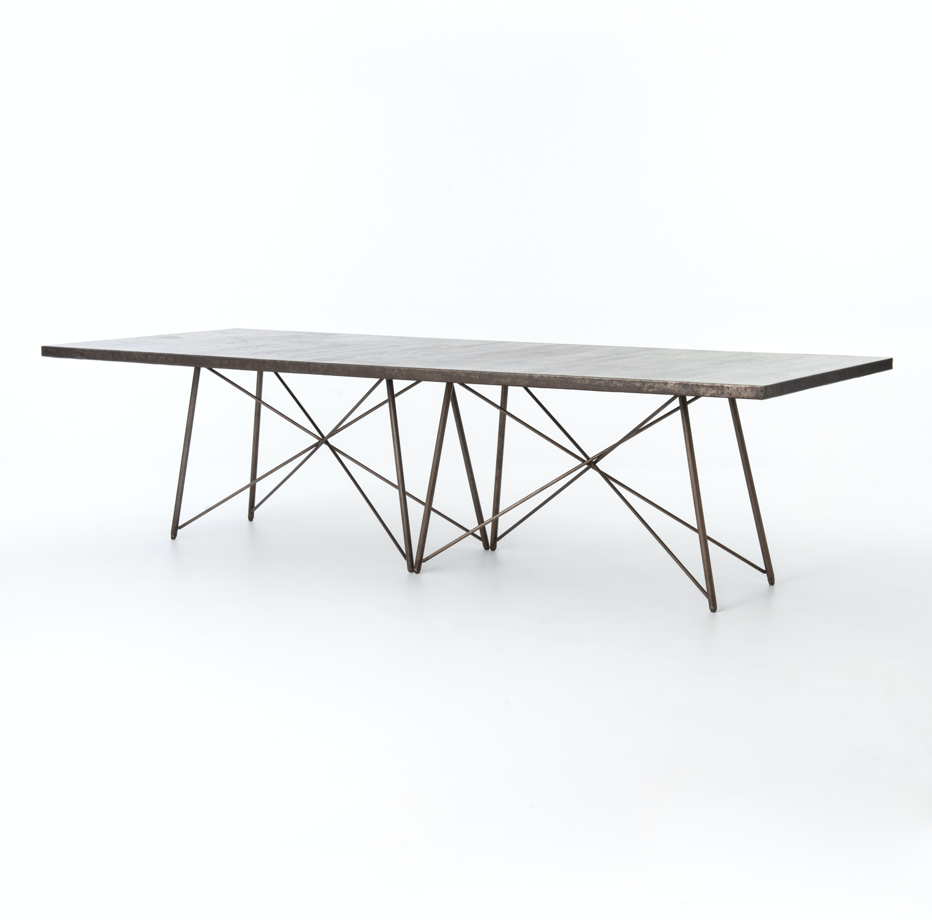 Four Hands Furniture UWES 027 Dining Room ROMAN 114 DINING TABLE