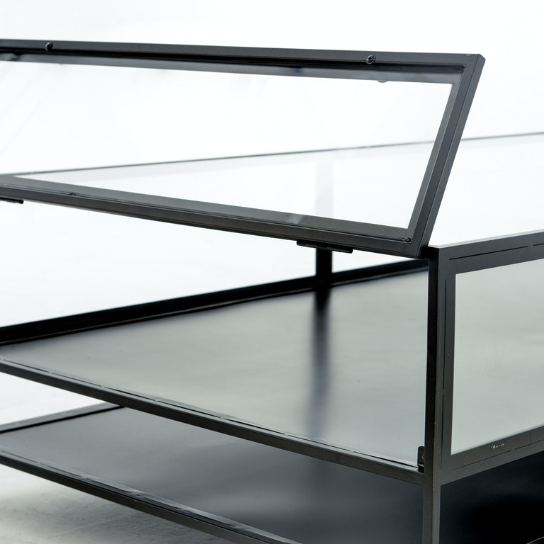 Four Hands Furniture Vbel F038 Living Room Shadow Box Coffee Table