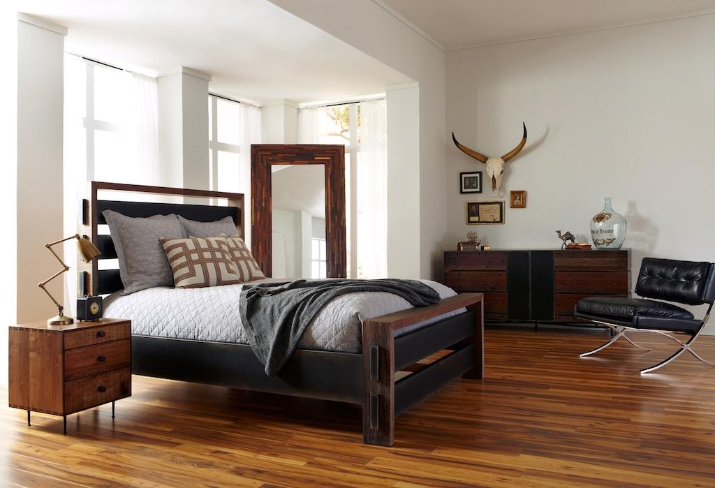 Four Hands Furniture Vbna Bd266q Bedroom Sean Queen Bed