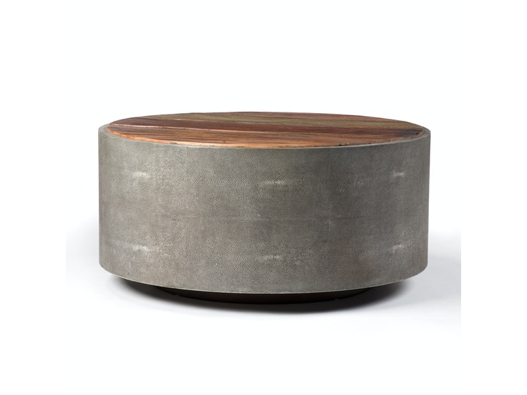 Four Hands Furniture Living Room Crosby Round Coffee Table Vbna Ct998