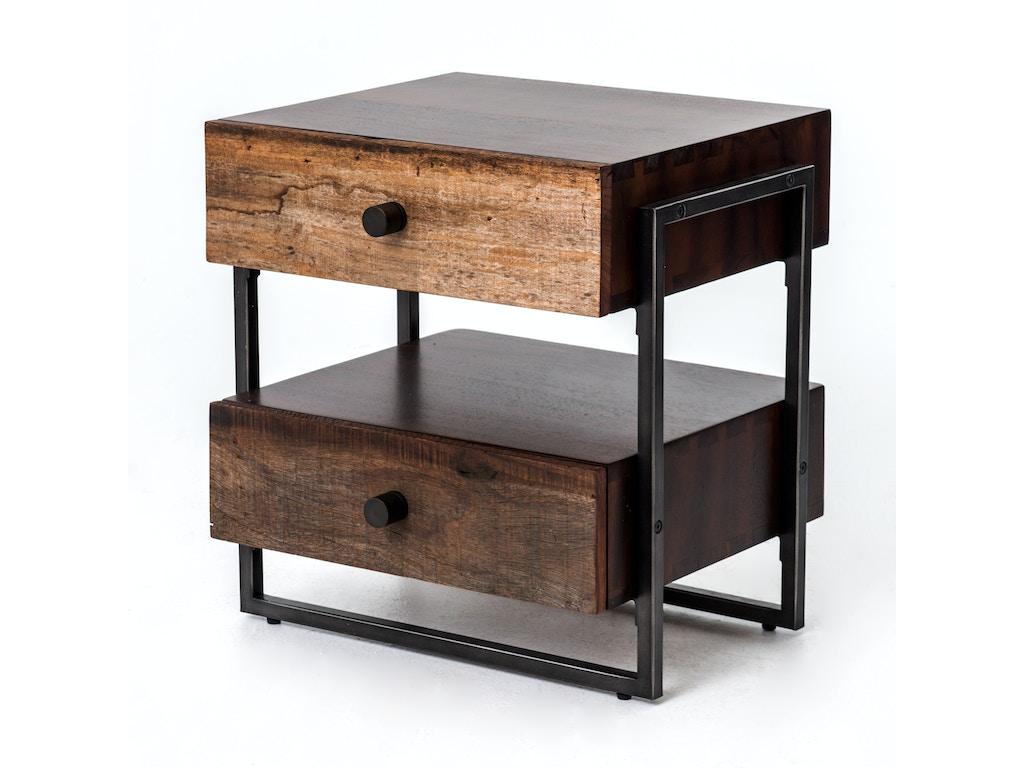 Four Hands Furniture Living Room Milo End Table Vbna Et1007