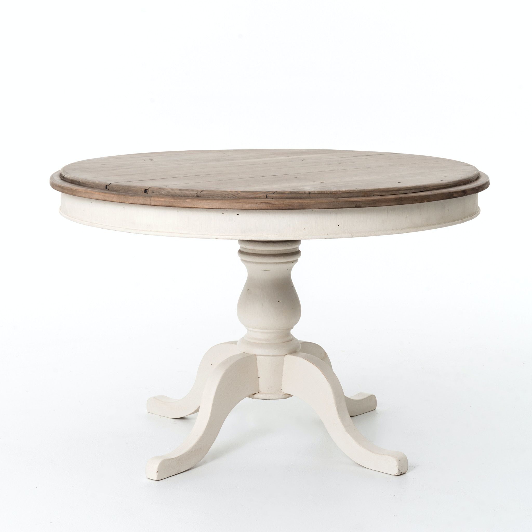 Four Hands Furniture Cornwall Round Dining Table 47u0027u0027 Suna Wh VCCD
