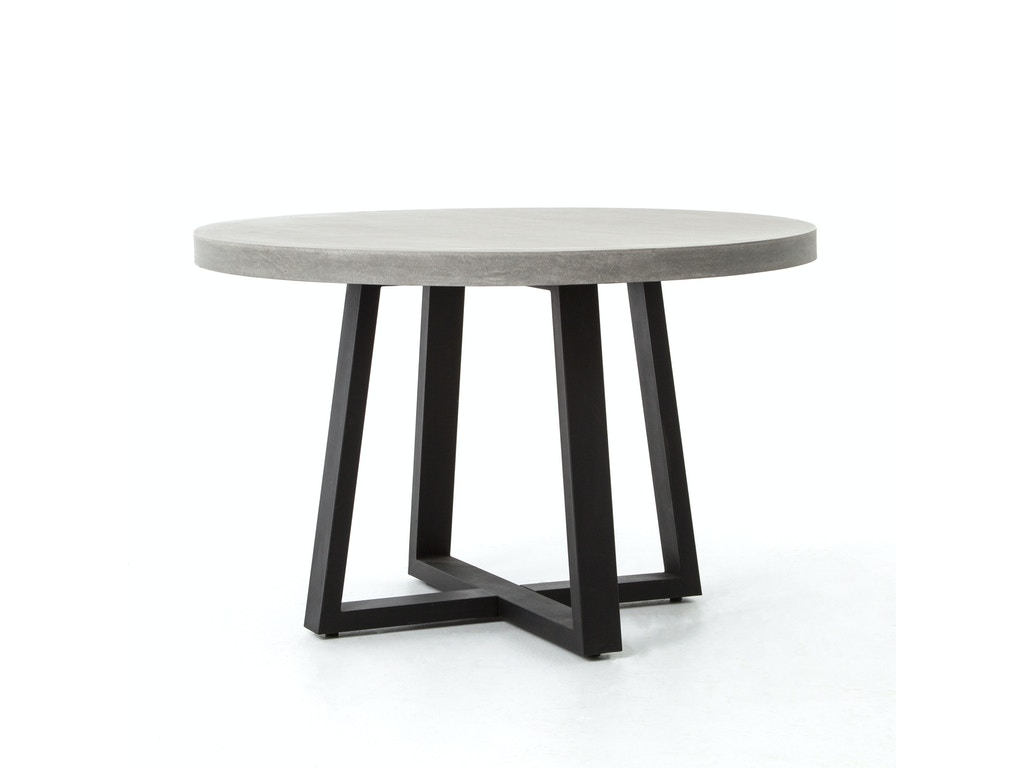 Tables by four hands furniture four hands furniture cyrus 48 round dining table vcns f006a geotapseo Gallery