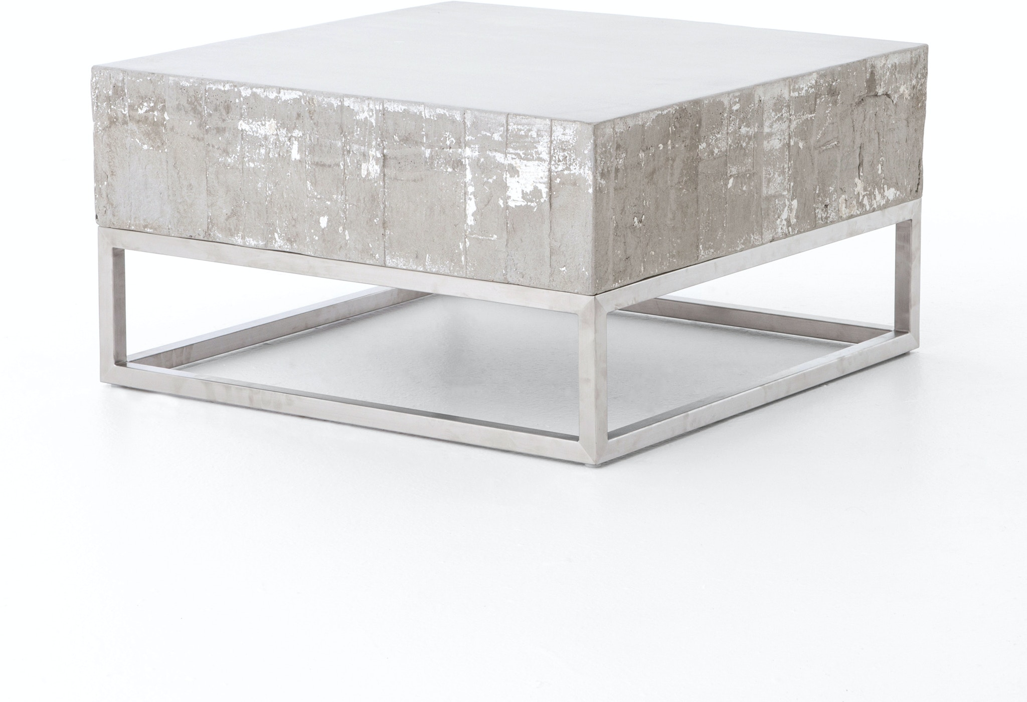 Four Hands Furniture VCNS F011 Living Room CONCRETE AND CHROME