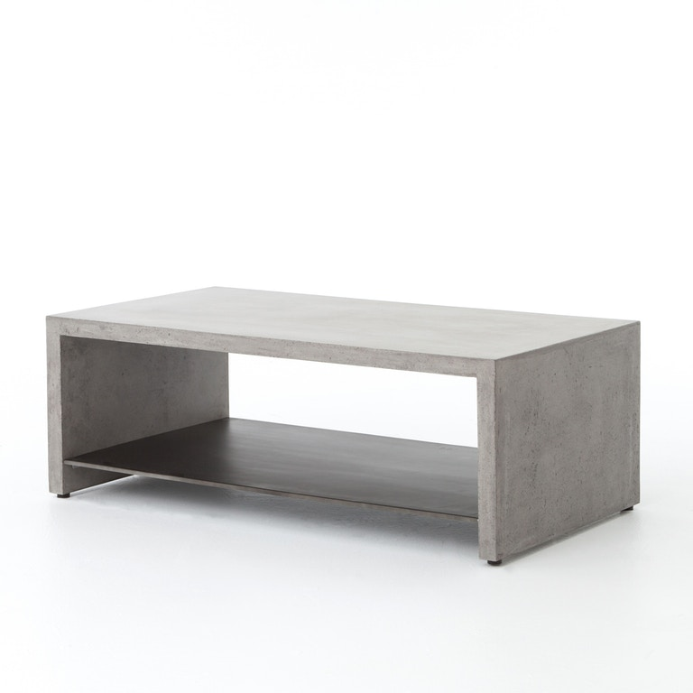 Everett Coffee Table: Four Hands Furniture VEVR-001 Living Room Hugo Coffee Table