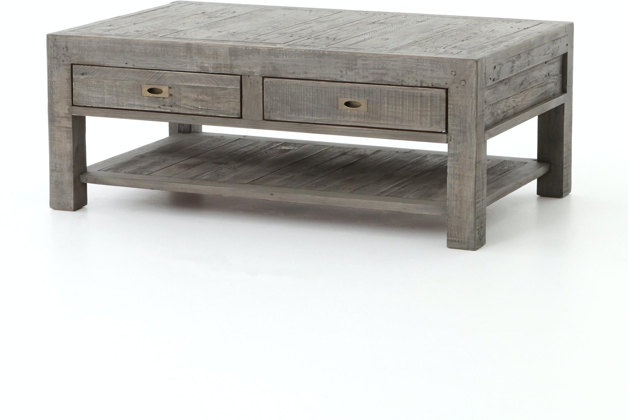 Four Hands Furniture VPRA 02 55 Living Room POST & RAIL COFFEE