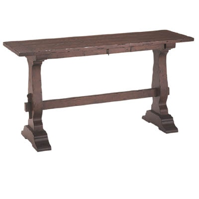Fremarc Designs Trestle Console Table With Drawer 192166