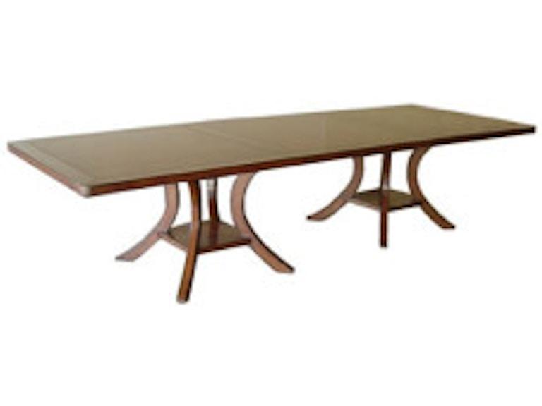 Fremarc Designs Dining Room Veranda Double Pedestal - Fremarc dining table