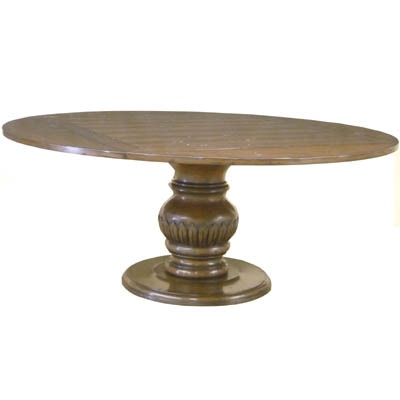 Custom Square To Round Dining Table