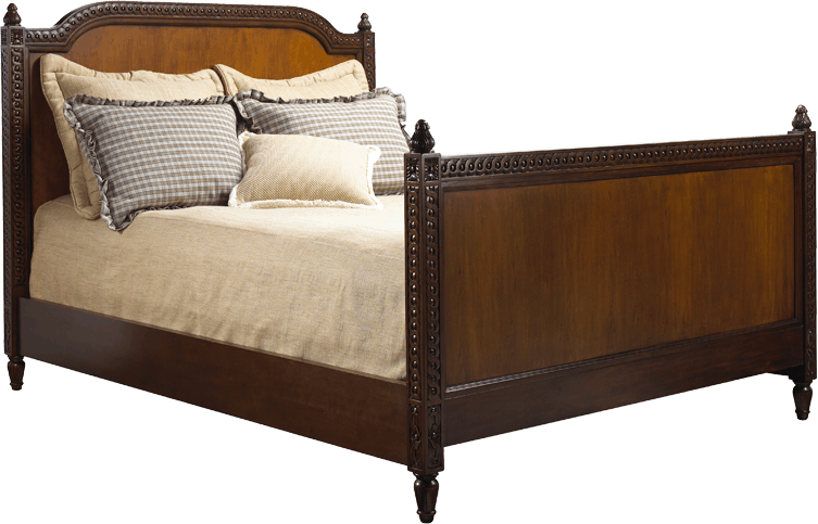 French Heritage Furniture Bedroom Lilles Wood Panel