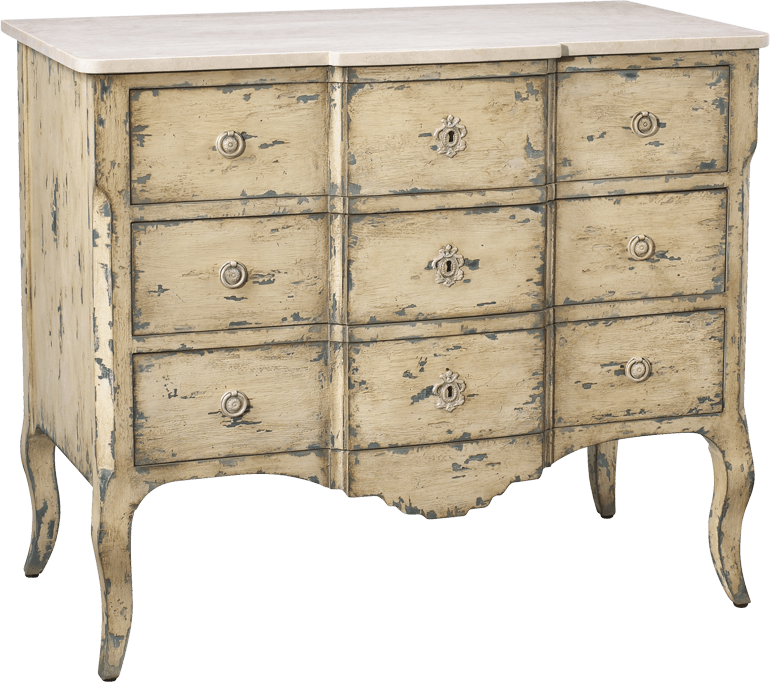 French Heritage Furniture Bedroom Sandrine mode Chest M
