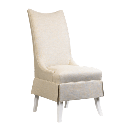 French Heritage Furniture Victoire Dining Chair Skirted M-7228-605S-Wht  sc 1 st  Goodu0027s Home Furnishings & Dining Room Chairs - Goods Home Furnishings - North Carolina