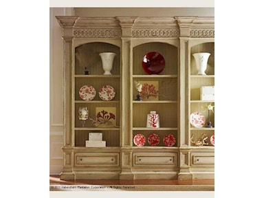 Habersham Furniture Hathaway Triple Bookcase 01-2723