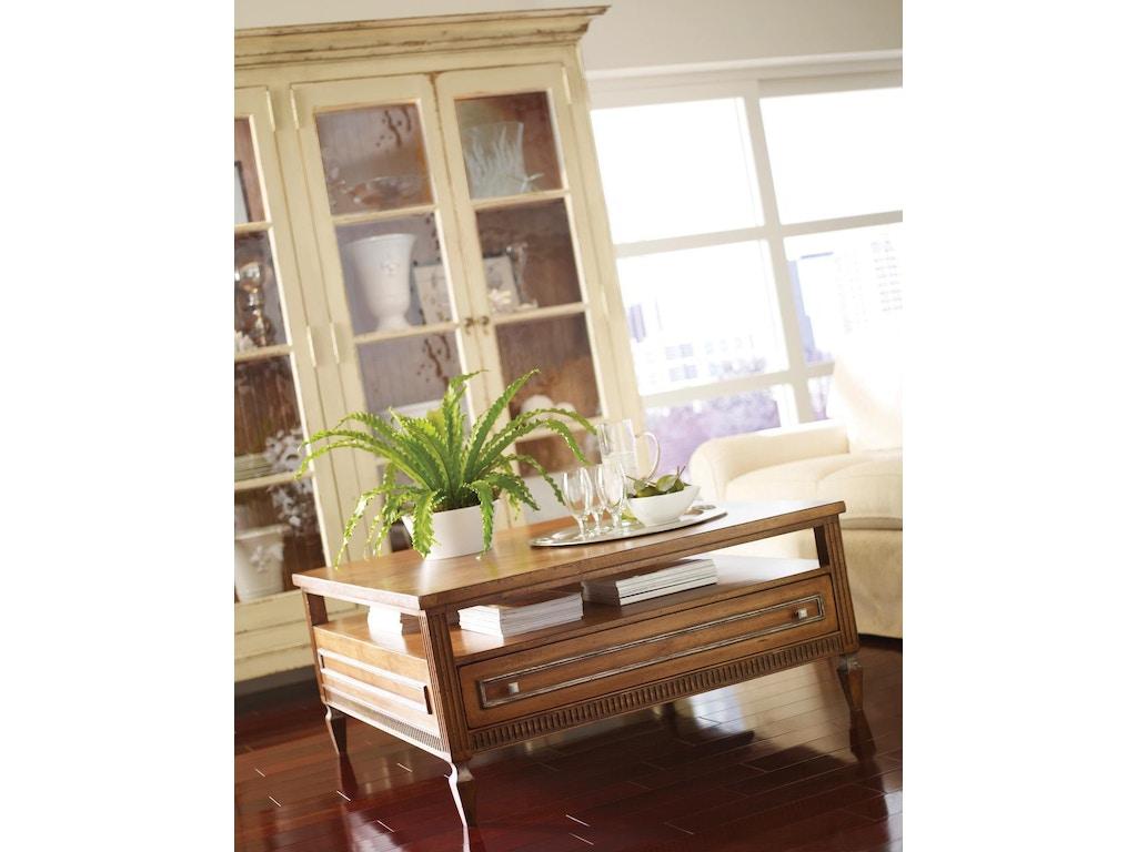 Habersham furniture 01 3370 living room bennington coffee for Habersham cabinets cost
