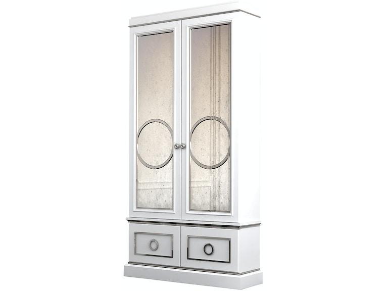 Habersham Furniture 03 2338 Living Room Astoria Double Door Curio